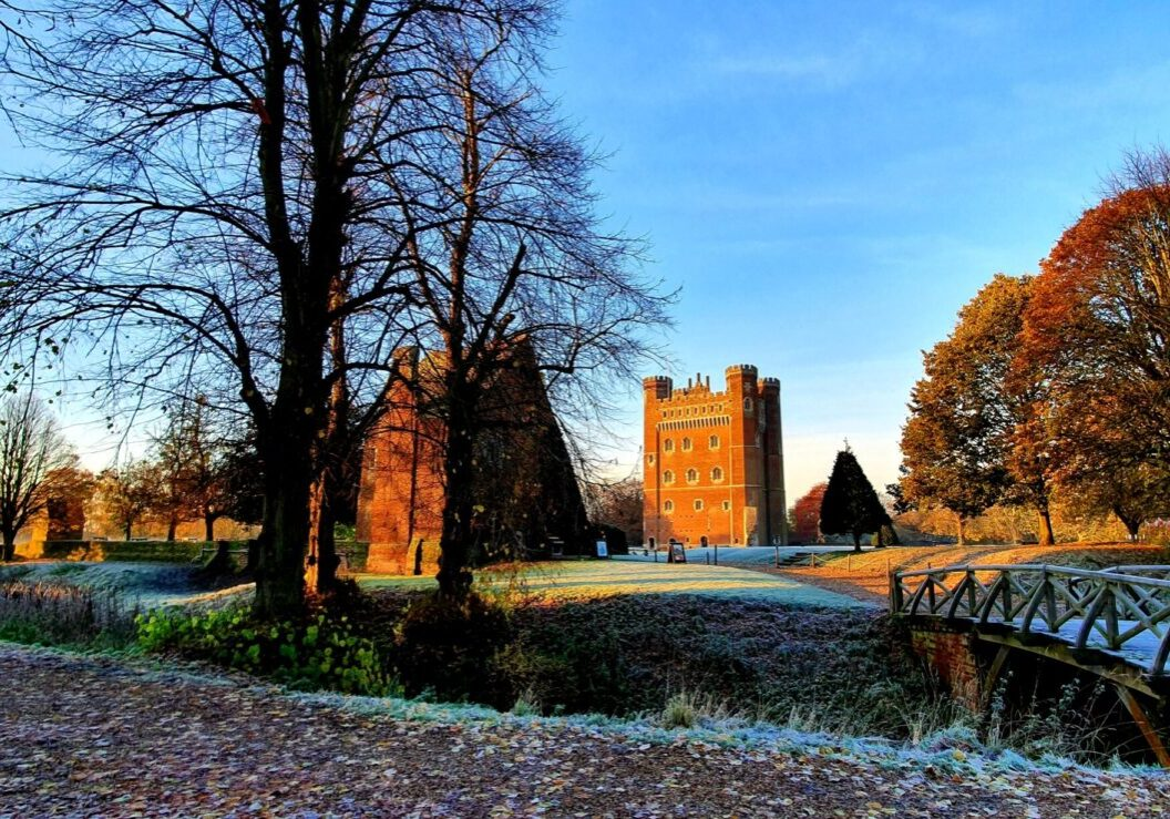 'A Frosty morning at Tattershall Castle' by Nicola Spafford