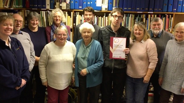 Celebrating Success –  Heritage Lincolnshire receives volunteering accreditation