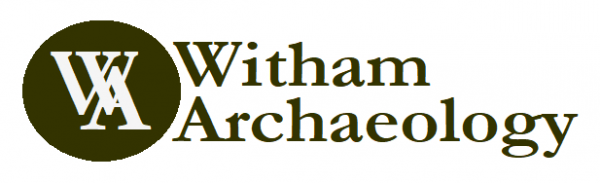 logo for witham archaeology
