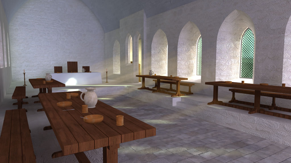 tupholme-abbey-reconstruction-refectory-interior